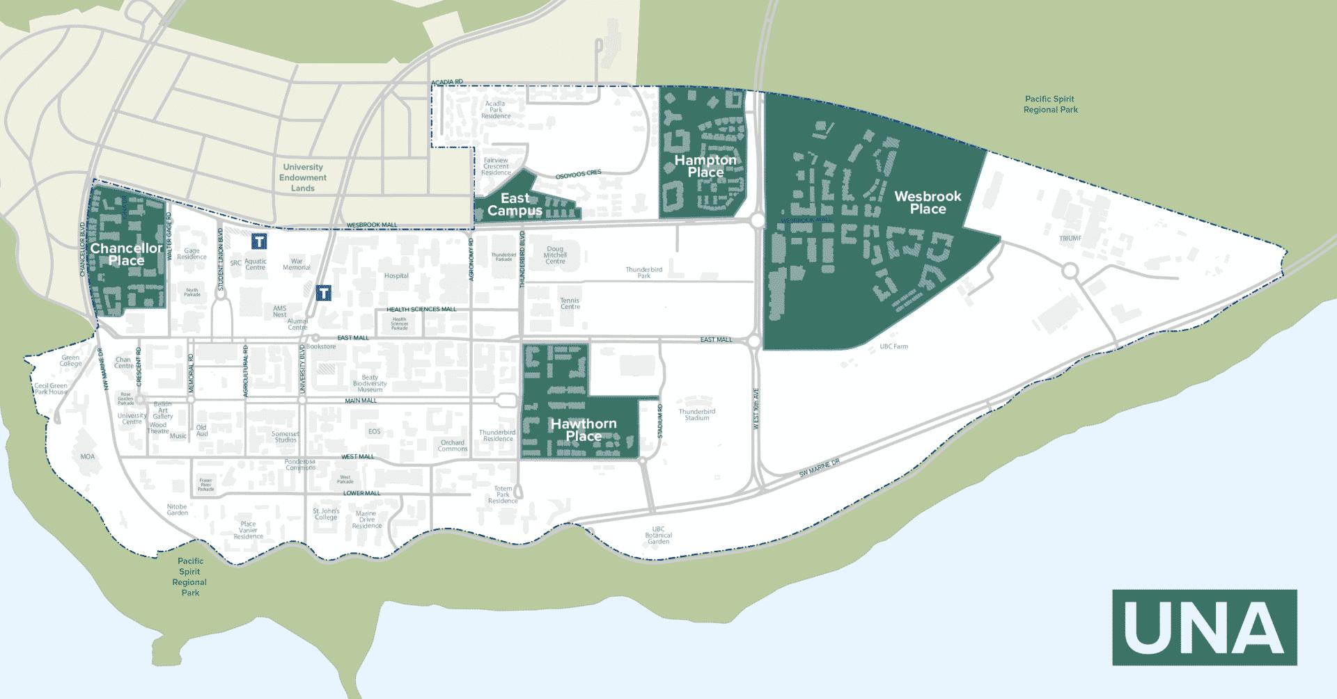 UNA Map
